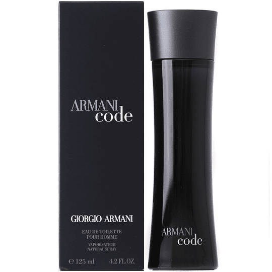 Armani Code para hombre / 125 ml Eau De Toilette Spray