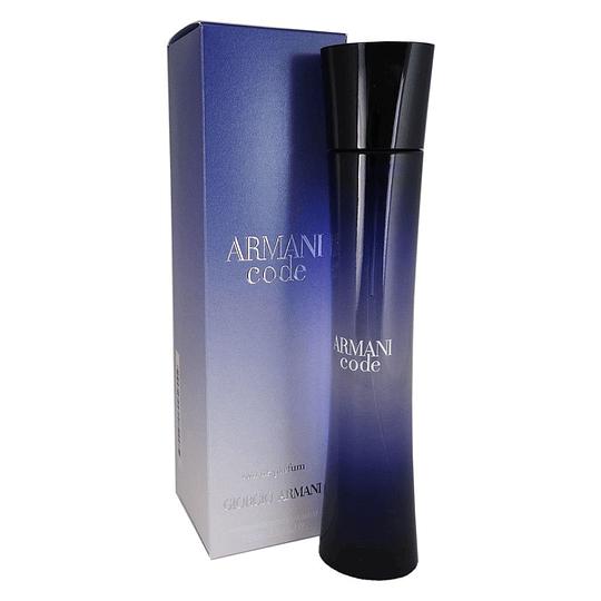 Armani Code para mujer / 75 ml Eau De Parfum Spray
