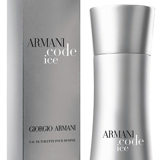 Armani Code Ice para hombre / 125 ml Eau De Toilette Spray
