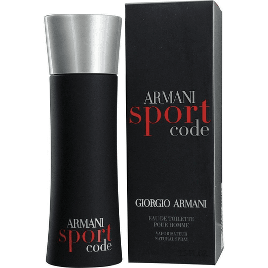 Armani Code Sport para hombre / 125 ml Eau De Toilette Spray