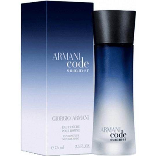 Armani Code Summer para hombre / 75 ml Eau Fraiche Spray