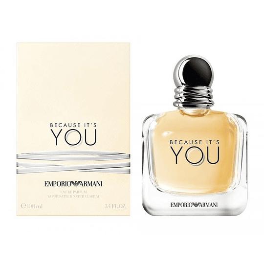 Because It's You para mujer / 100 ml Eau De Parfum Spray