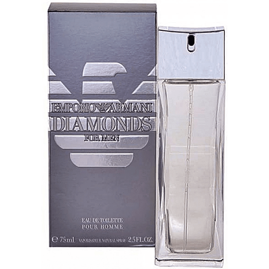 Emporio Armani Diamonds para hombre / 75 ml Eau De Toilette Spray