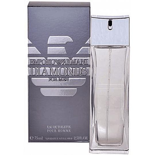 Emporio Armani Diamonds para hombre / 75 ml Eau De Toilette Spray