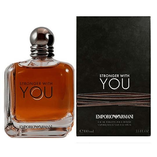 Emporio Armani Stronger With You para hombre / 100 ml Eau De Toilette Spray