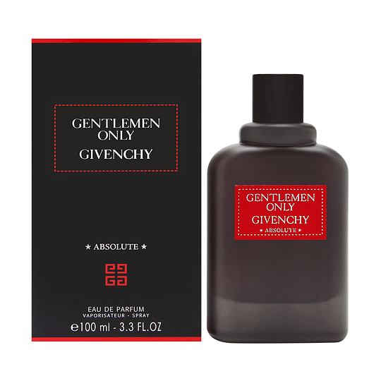 Gentlemen Only Absolute para hombre / 100 ml Eau De Parfum Spray