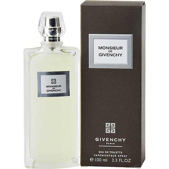 Monsieur de Givenchy para hombre / 100 ml Eau De Toilette Spray