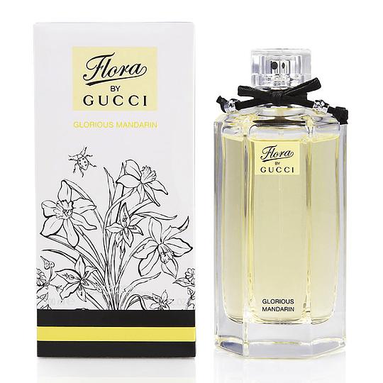 Flora by Gucci Glorious Mandarin para mujer / 100 ml Eau De Toilette Spray