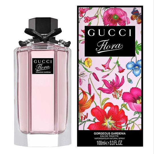 Flora by Gucci Gorgeous Gardenia para mujer / 100 ml Eau De Toilette Spray
