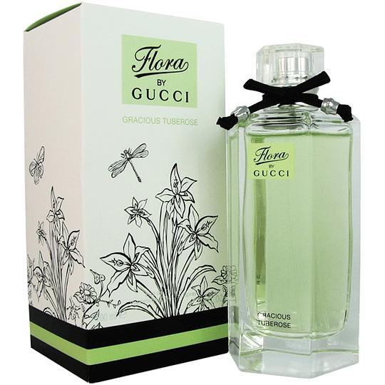 Flora by Gucci Gracious Turberose para mujer / 100 ml Eau De Toilette Spray
