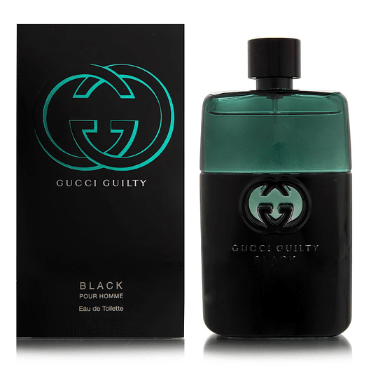 Gucci Guilty Black para hombre / 90 ml Eau De Toilette Spray
