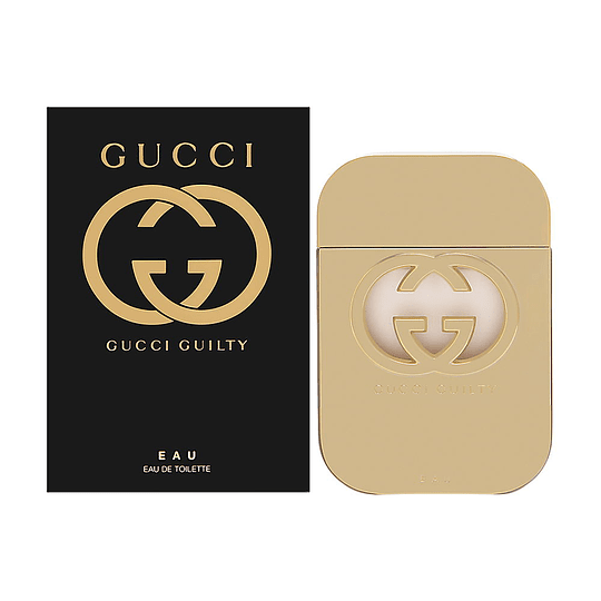 Gucci Guilty Eau para mujer / 75 ml Eau De Toilette Spray