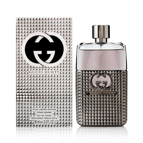 Gucci Guilty Stud para hombre / 90 ml Eau De Toilette Spray