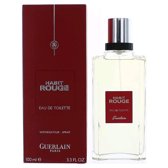 Habit Rouge para hombre / 100 ml Eau De Toilette Spray