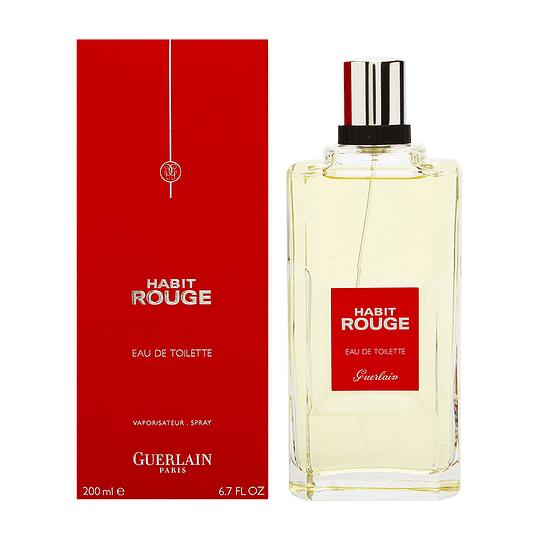 Habit Rouge para hombre / 200 ml Eau De Toilette Spray