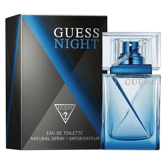 Guess Night para hombre / 100 ml Eau De Toilette Spray