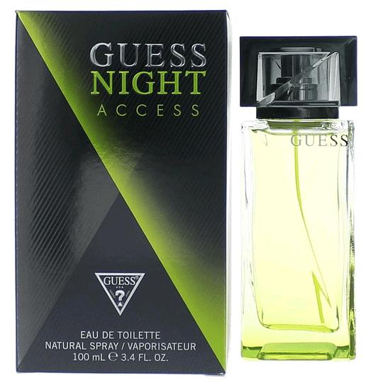 Guess Night Access para hombre / 100 ml Eau De Toilette Spray