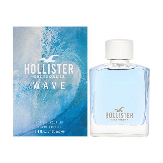 Hollister Wave para hombre / 100 ml Eau De Toilette Spray
