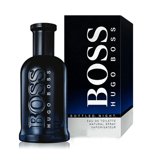 Boss Bottled Night para hombre / 100 ml Eau De Toilette Spray