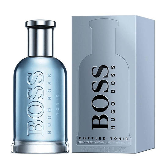 Boss Bottled Tonic para hombre / 100 ml Eau De Toilette Spray