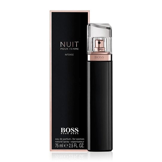 Boss Nuit Intense para mujer / 75 ml Eau De Parfum Spray