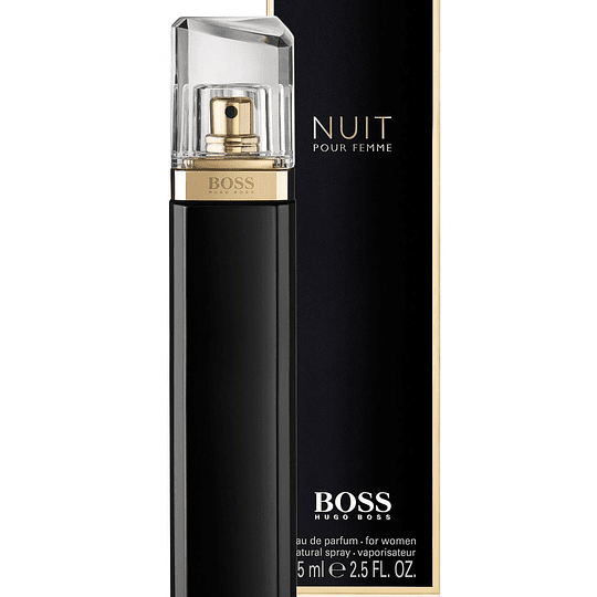 Boss Nuit para mujer / 75 ml Eau De Parfum Spray