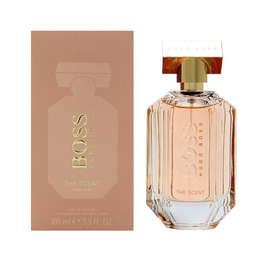 Boss The Scent para mujer / 100 ml Eau De Parfum Spray