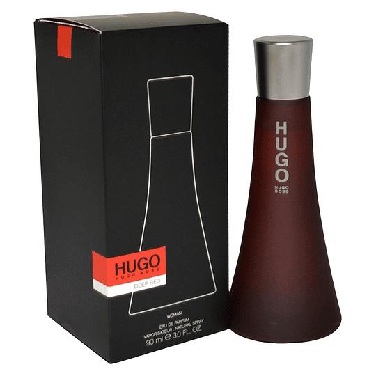 Hugo Deep Red para mujer / 90 ml Eau De Parfum Spray