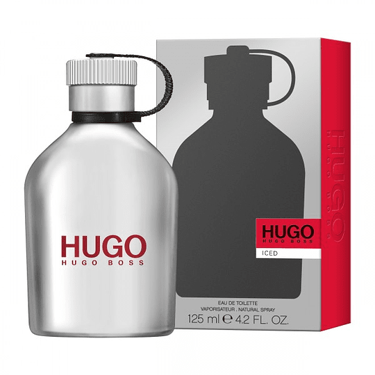 Hugo Iced para hombre / 125 ml Eau De Toilette Spray