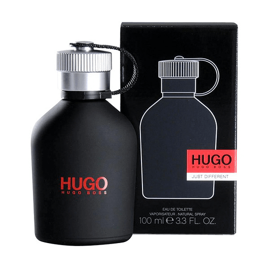 Hugo Just Different para hombre / 100 ml Eau De Toilette Spray