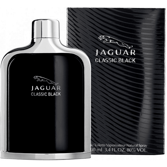 Jaguar Classic Black para hombre / 100 ml Eau De Toilette Spray