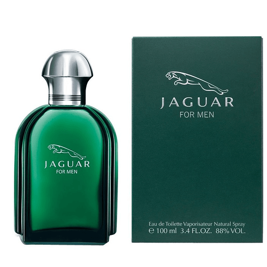 Jaguar For Men para hombre / 100 ml Eau De Toilette Spray