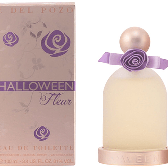 Halloween Fleur para mujer / 100 ml Eau De Toilette Spray
