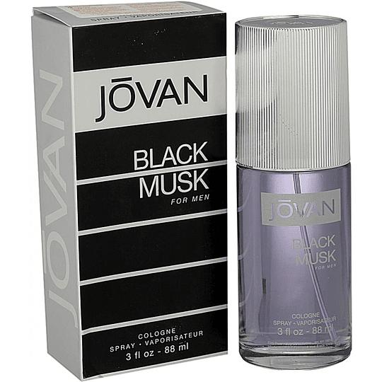 Jovan Black Musk para hombre / 90 ml Cologne Spray