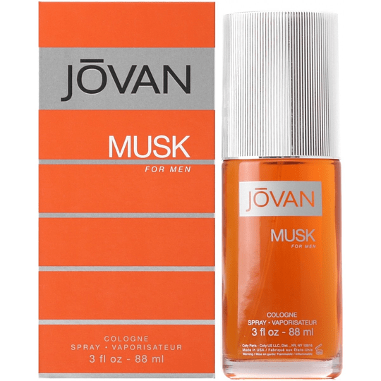 Jovan Musk para hombre / 90 ml Cologne Spray