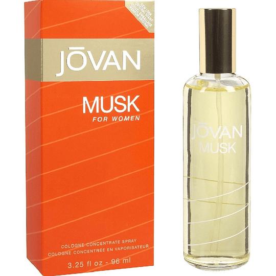 Jovan Musk para mujer / 96 ml Cologne Spray