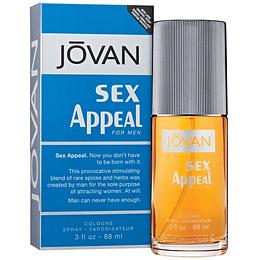 (M) Jovan Sex Appeal 90 ml EDC Spray