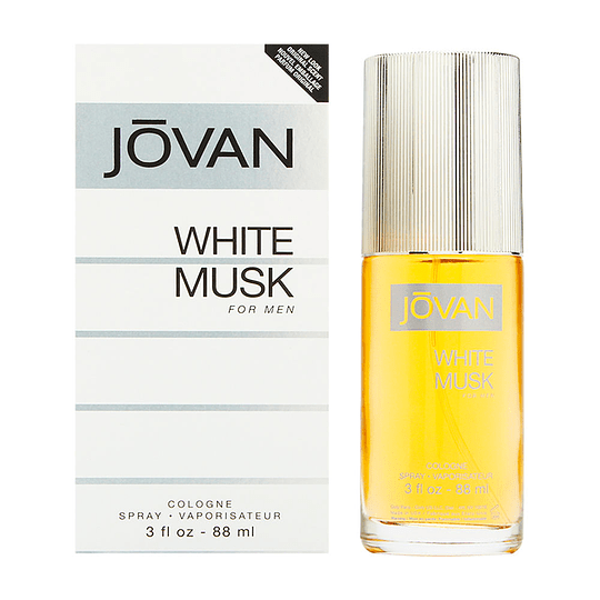 Jovan White Musk para hombre / 90 ml Cologne Spray