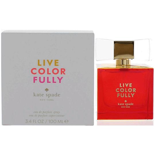 Live Colorfully para mujer / 100 ml Eau De Parfum Spray