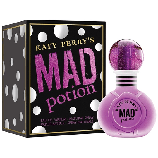 Mad Potion para mujer / 100 ml Eau De Parfum Spray