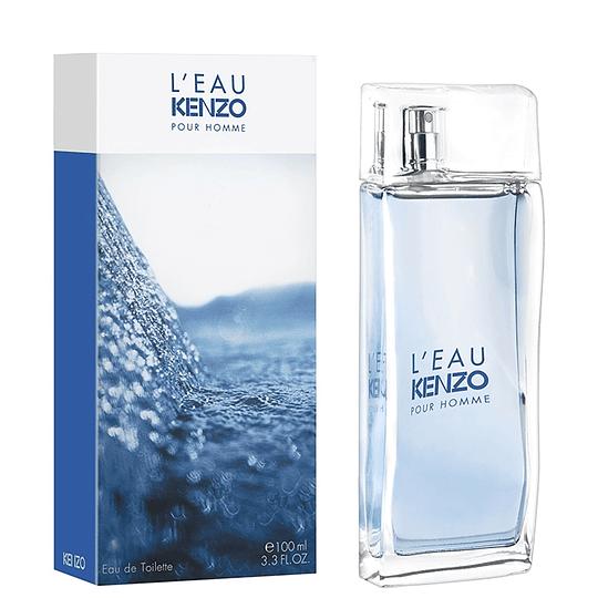 L' Eau Kenzo (L' Eau Par Kenzo) para hombre / 100 ml Eau De Toilette Spray