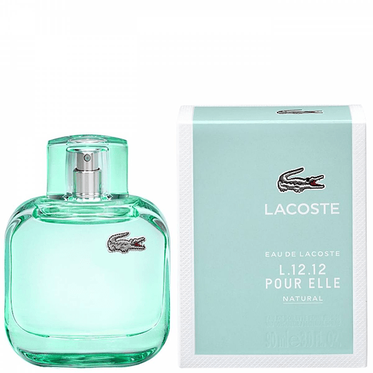 Eau de Lacoste L.12.12 Pour Elle Natural para mujer / 90 ml Eau De Toilette Spray