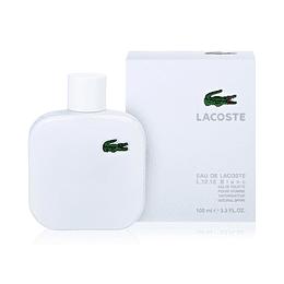 (M) Eau de Lacoste L.12.12 Pour Lui Blanc 100 ml EDT Spray