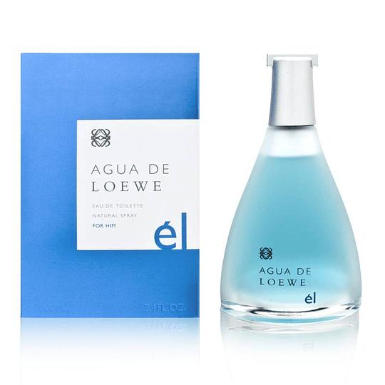Agua De Loewe El para hombre / 100 ml Eau De Toilette Spray