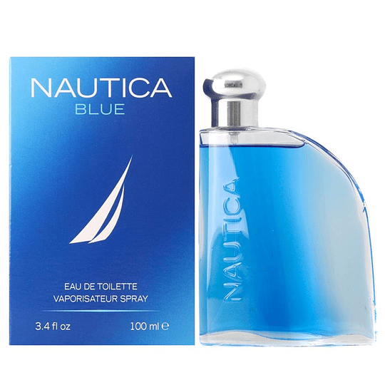Nautica Blue para hombre / 100 ml Eau De Toilette Spray