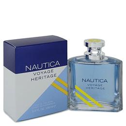 Nautica Voyage Heritage para hombre / 100 ml Eau De Toilette Spray