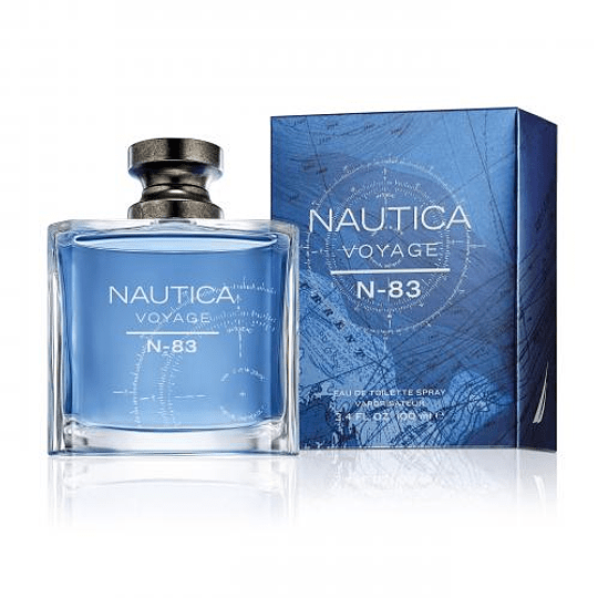 Nautica Voyage N-83 para hombre / 100 ml Eau De Toilette Spray
