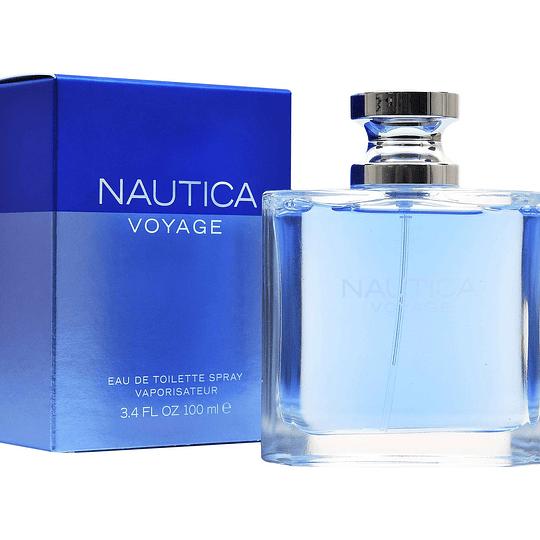 Nautica Voyage para hombre / 100 ml Eau De Toilette Spray