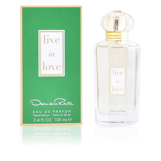 Live in Love para mujer / 100 ml Eau De Parfum Spray