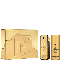 1 Million para hombre / SET - 100 ml Eau De Toilette Spray